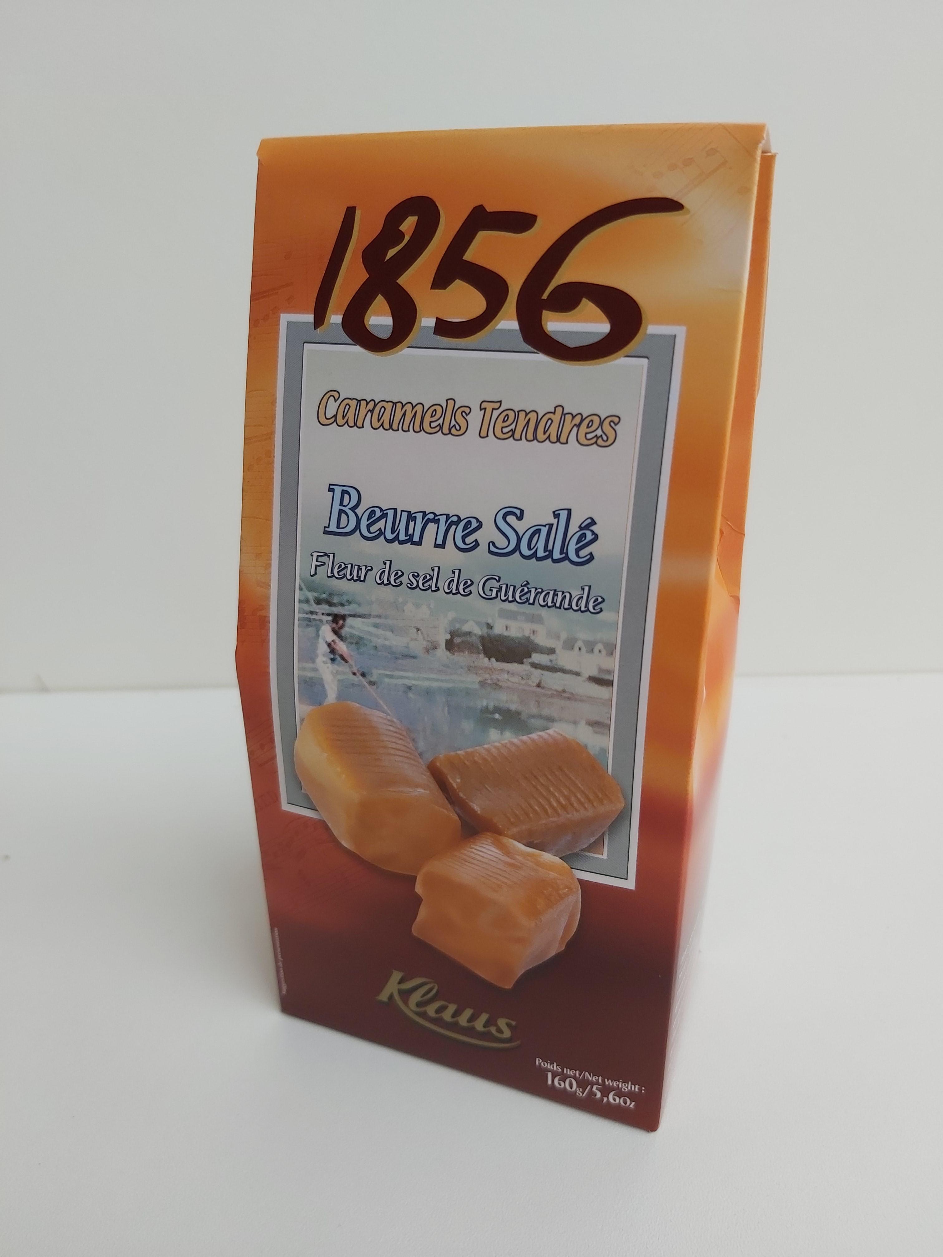 Caramels tendres beurre...