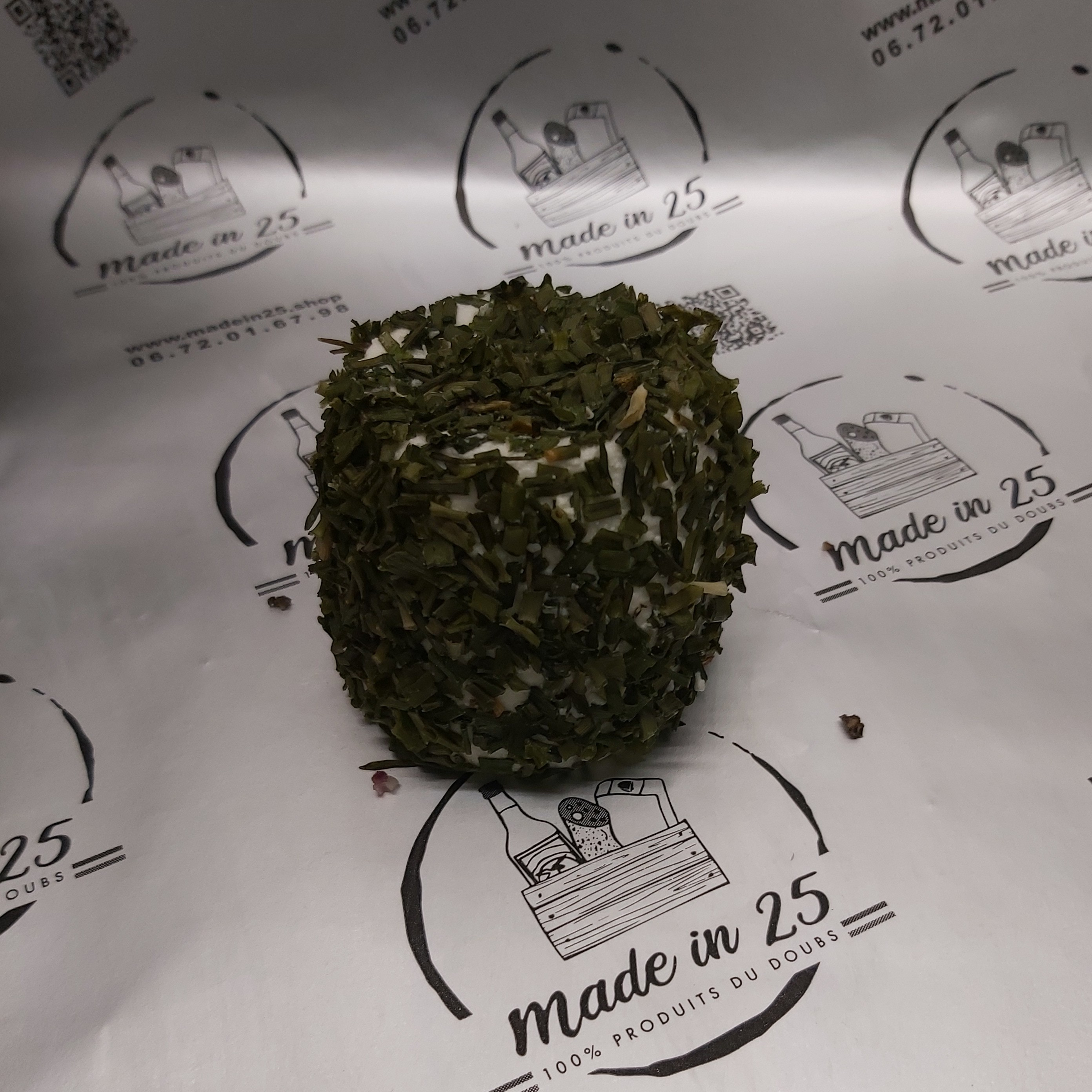 Crottin de chêvre aromatisé...